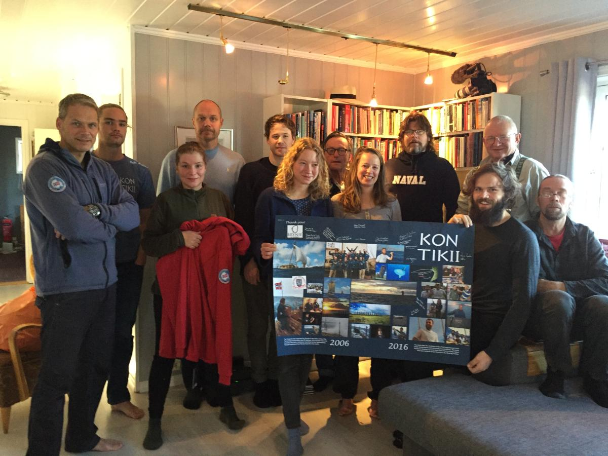 Official page for the Kon-Tiki2 expedition - home
